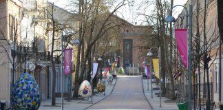 25 марта в Даугавпилсе. Фото: Елена Иванцова