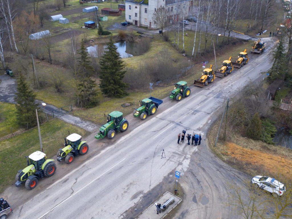 Акция протеста против административно-территориальной реформы в Латвии. 5 марта 2020 года. Фото: @IMilovs