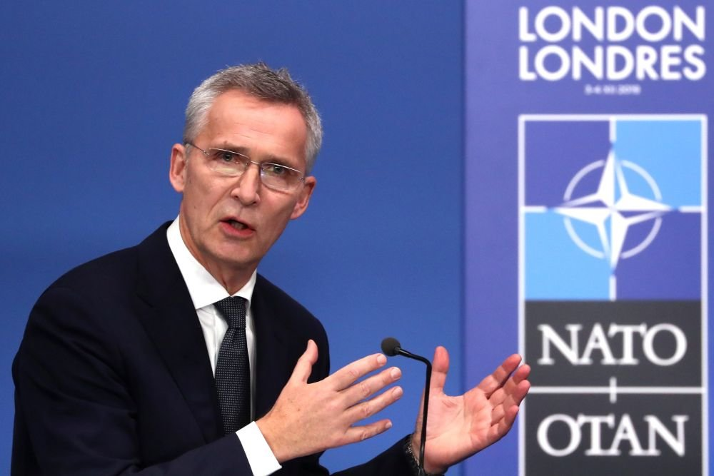 Генсек НАТО Йенс Столтенберг Фото: REUTERSYVES/HERMAN