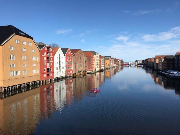 Тронхейм, Норвегия. Фото из личного архива Оксаны