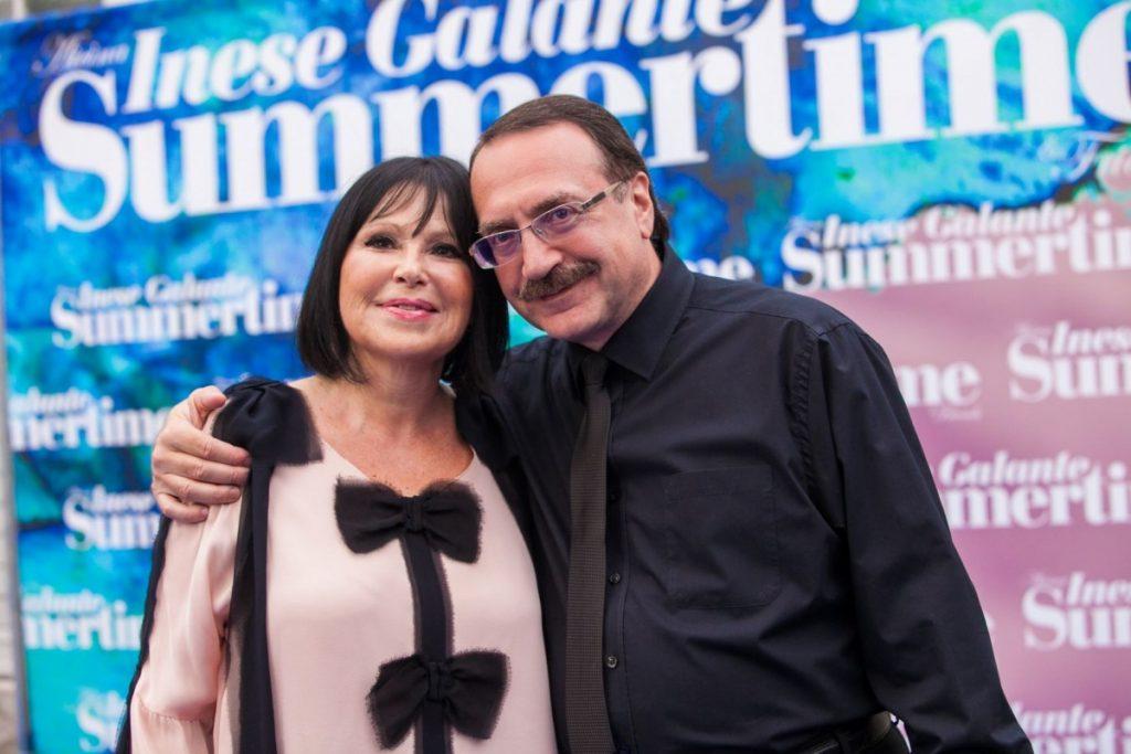 Инесе Галанте и Даниил Крамер. Фото предоставлено маркетинговым агентством PR LINIJA