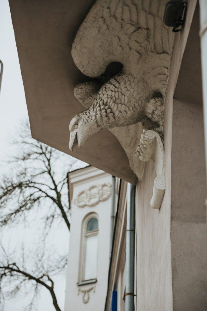 Здание на Саулес, 55 в Даугавпилсе. 27 февраля 2020 года. Фото: Ирина Маскаленко