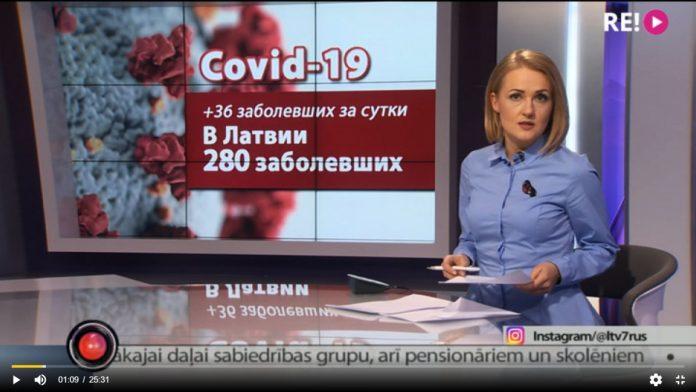 Выпуск новостей 27 марта 2020 года. Скриншот программы