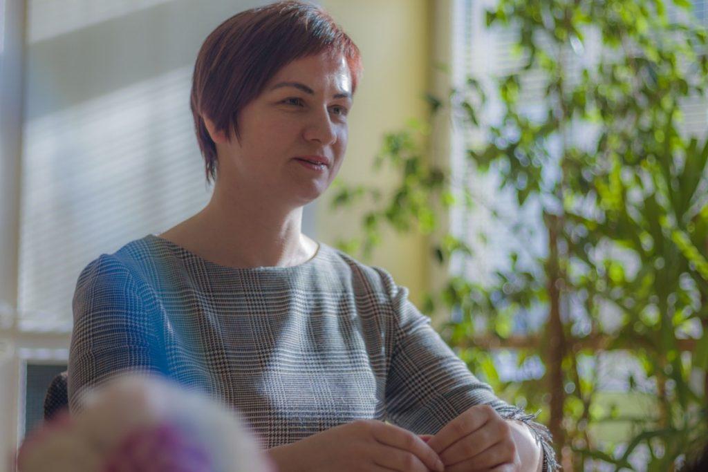 Психолог Линда Вингре. Фото: Евгений Ратков