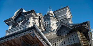 Церковь Александра Невского на гарнизонном кладбище в Даугавпилсе. Фото: Анатолий Киврин