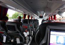 В региональных автобусах теперь можно сидеть только по одному. Фото: bagno.site