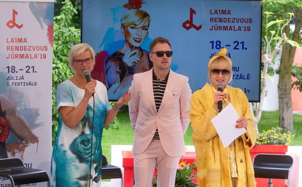 Конференция Фестиваля Laima Rendezvous Jūrmala  Фото: Laima Voice