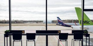 Рижский аэропорт. 18 марта 2020 года. Фото: Riga International Airport