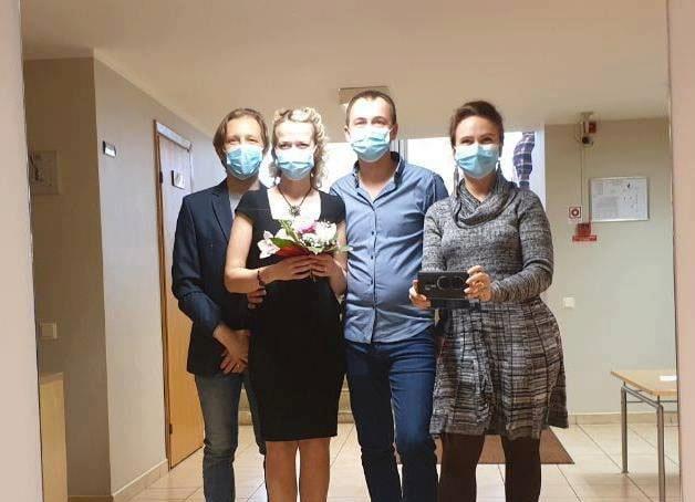 Свадьба Ольги и Дмитрия в режиме чрезвычайной ситуации. Рига, 3 апреля 2020 года