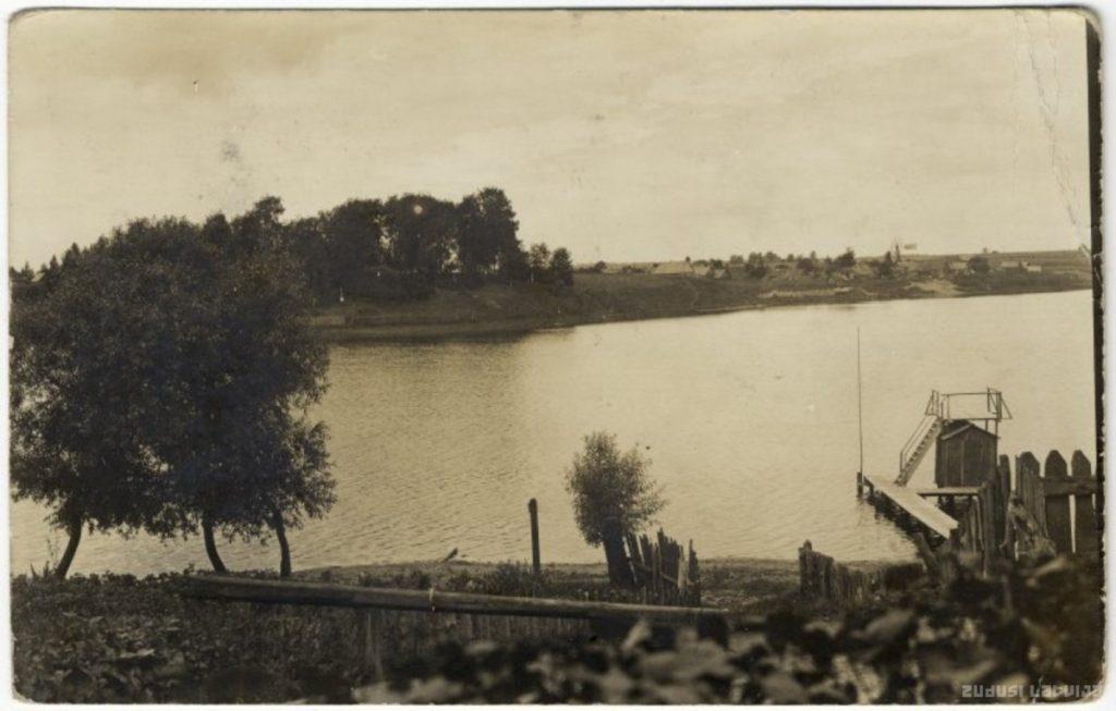 Большое Субатское озеро. 1918. Фото: zudusilatvija.lv