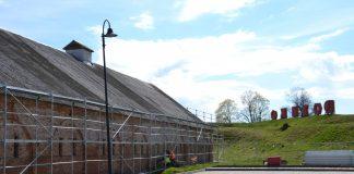 Пороховой склад 7-го бастиона в Даугавпилсской крепости. 24 апреля 2020 года. Фото: Елена Иванцова