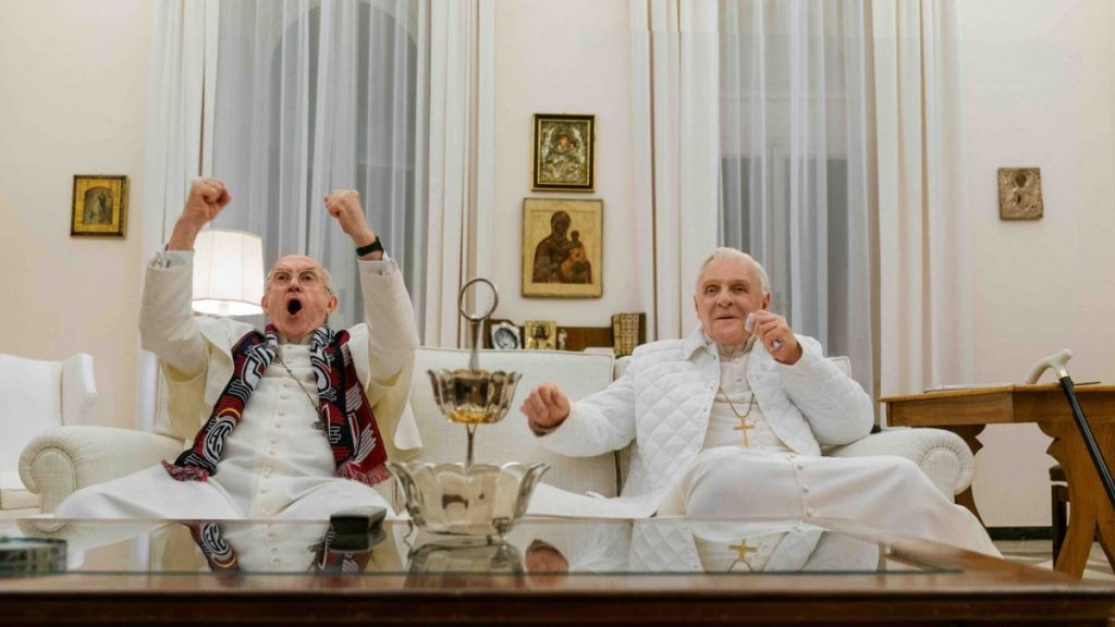 """Кадр из фильма """"Два папы"""". Фото: empireonline.com"""