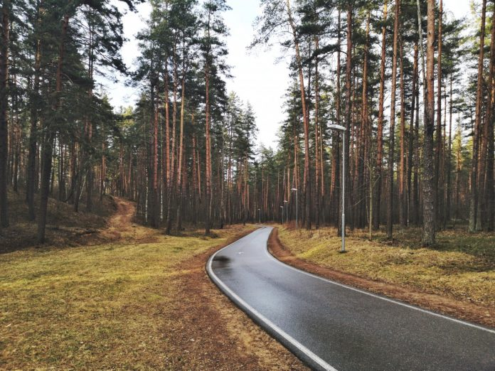 Стропская трасса в Даугавпилсе. 1 марта 2020 года. Фото (из архива): Сергей Соколов