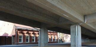 Путепровод на улице Смилшу в Даугавпилсе. Август, 2019 года. Фото: Елена Иванцова