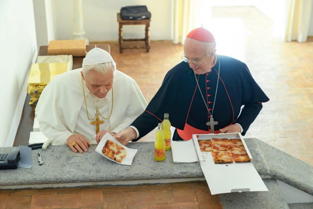 """Кадр из фильма """"Два папы"""". Фото: nytimes.com"""