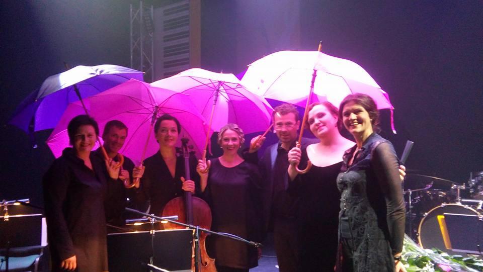 Светлана Окунь на концерте Музыкального августа в Даугавпилсском театре. 18 августа 2016 года. Фото из личного архива