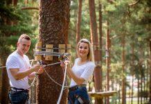 Tarzāns крупнейший парк приключений в Балтии