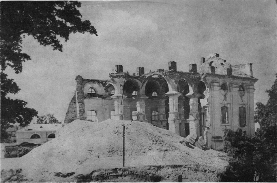 Крепостной собор, Конец 40 - начало 50-х. Фото: Ретро Даугавпилс - Латвия
