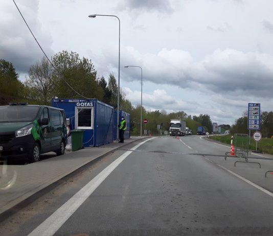 Латвийско-литовская граница. 21 мая 2020 года. Фото: Елена Иванцова