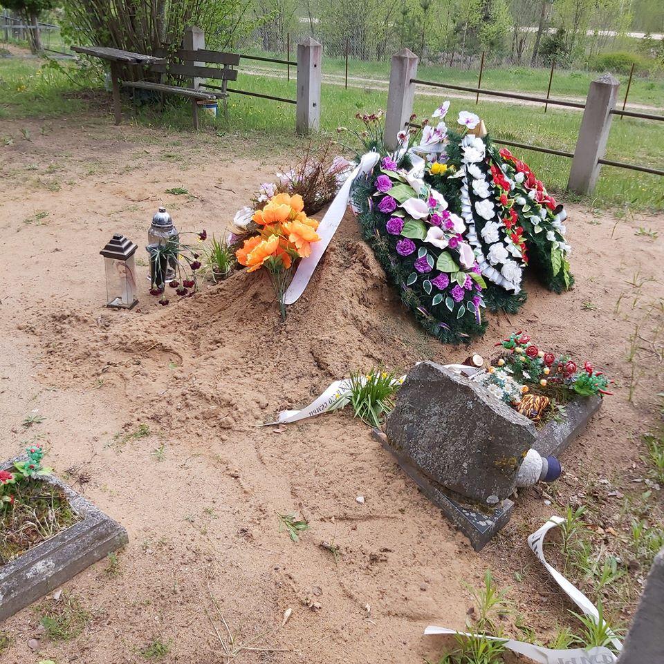 """Кладбище Криваны (""""Застенки"""") в Науенской волости. 15 мая 2020 года. Фото Галины Бобылевой"""