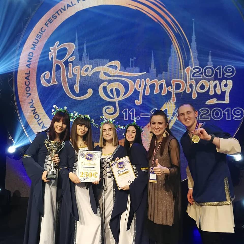 Алиса Мэй и Wonderland обладатели Grand Prix на международном, вокальном конкурсе Riga Symphony 2019