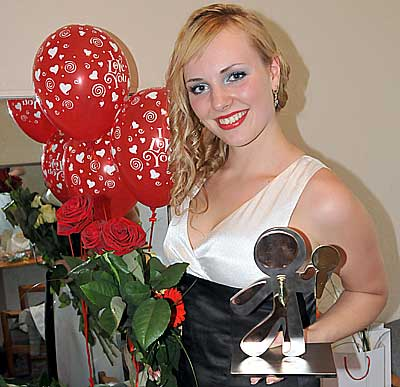 "Ольга Лакса - победительница проекта ""Hello, Daugavpils!""-2 (2011 год)"