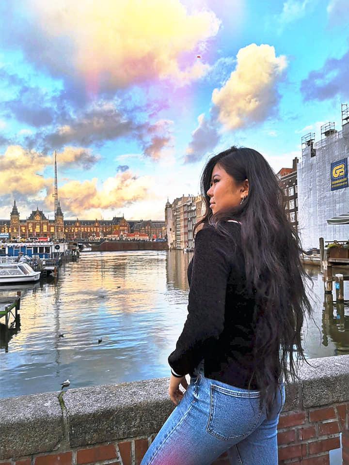 Екатерина Ли в Амстердаме. Фото из личного архива