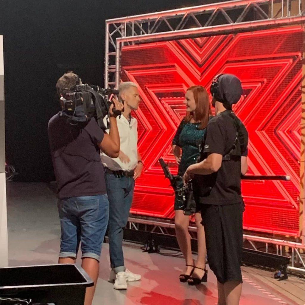 Закулисье X-Factor в Риге. Фото из личного архива