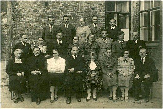 Преподавательский состав Даугавпилсского университета, 1955-ый год. Фото из фондов музея ДУ