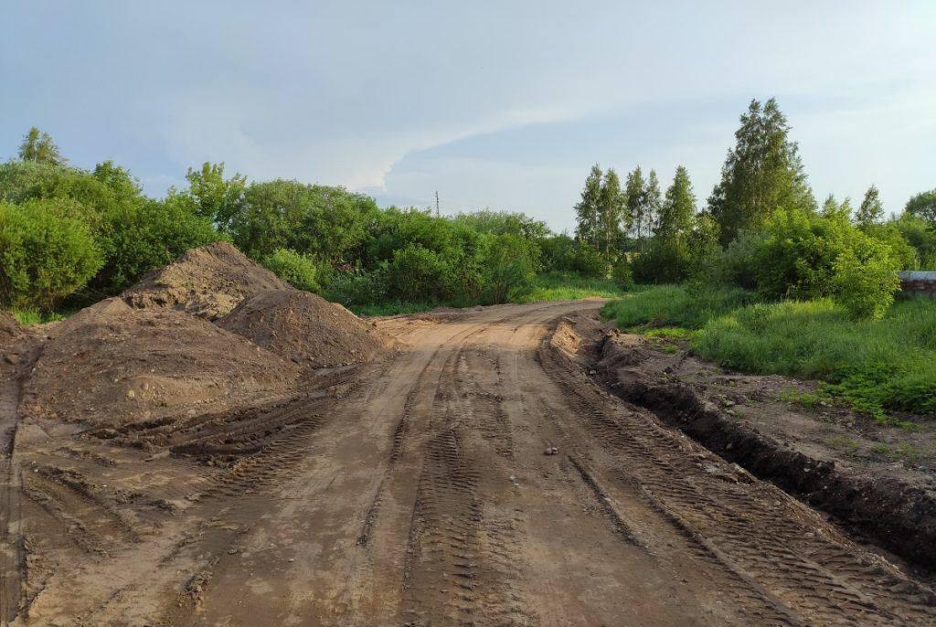 Объездная дорога на Юдовке. Фото: Ирена Вилциня