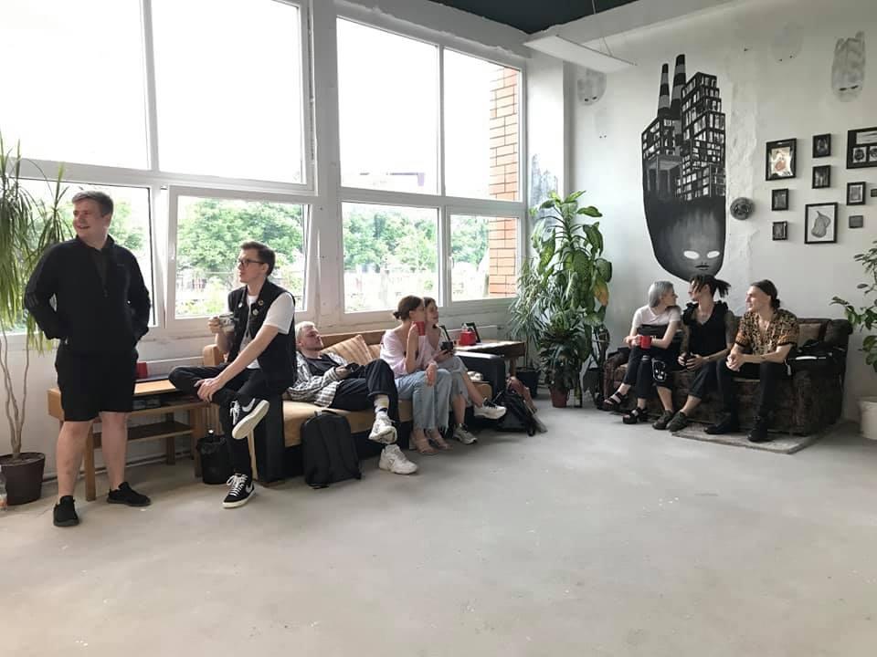 Галерея современного искусства Con_non_con. Фото из личного архива Александры Курилиной