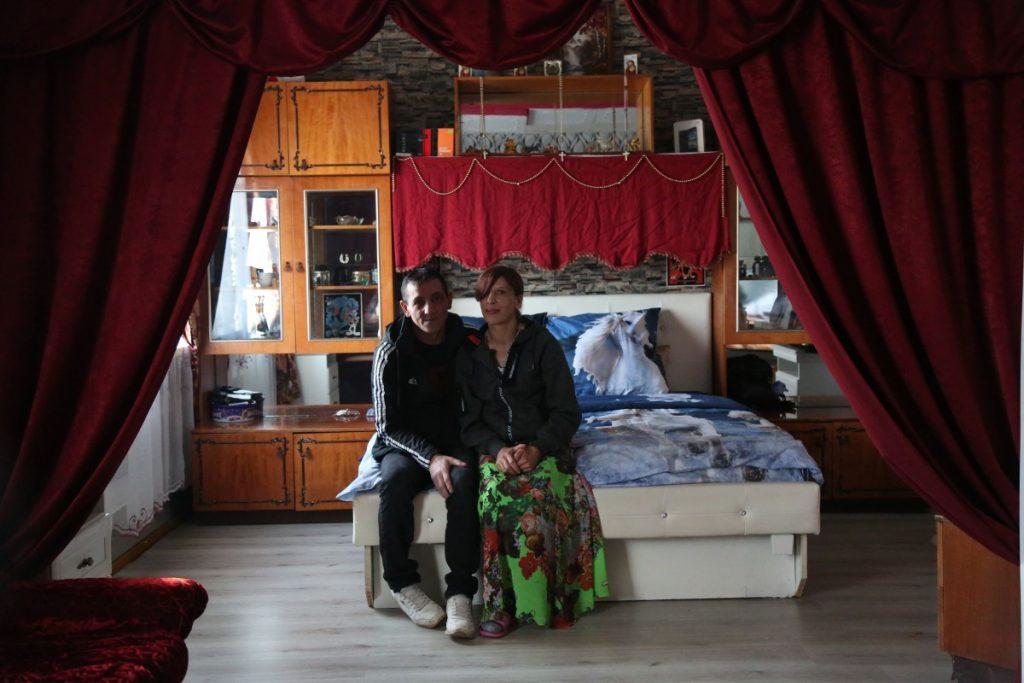 Александр Бейнарович с женой Илоной Ермолаевой из Амбели. Фото: R Media