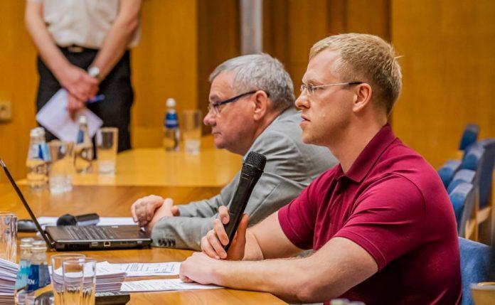 Андрей Элксниньш и Янис Лачплесис. Фото: Daugavpils.lv