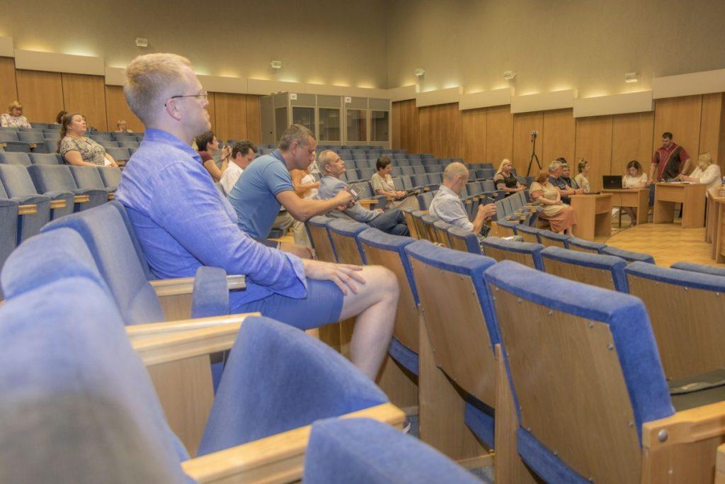 Внеочередное заседание Даугавпилсской городской думы. 29 июня 2020 года. Фото: Евгений Ратков