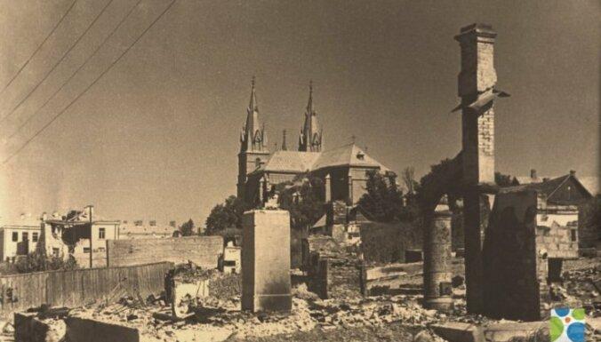 Резекне весной 1944 года. Фото: городская дума Резекне