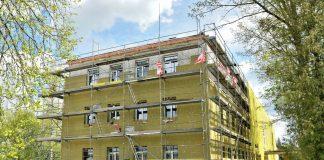 Реновация здания Центра социального обслуживания Pīlādzis в Калупе. Пресс-фото