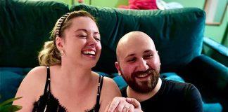 Внучка Раймонда Паулса Моника Педерсен и её муж голливудский кинопродюсер Майкл Алоян. Фото со страницы Майкла в инстаграме