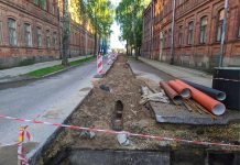 Улица Института в Даугавпилсе. 9 июля 2020 года. Фото: Евгений Ратков