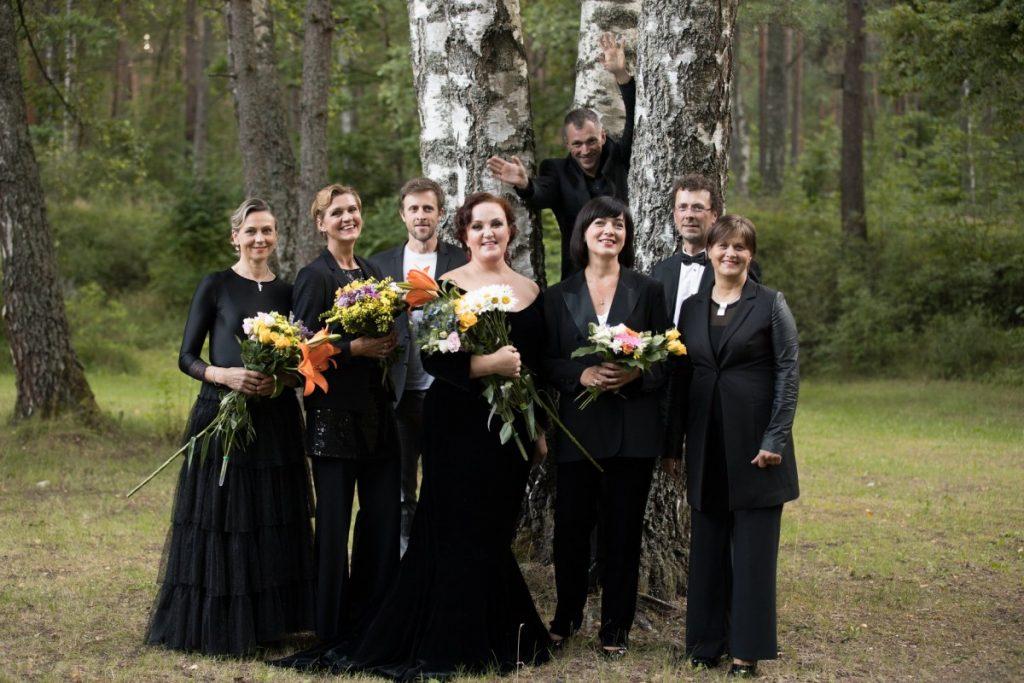 Артисты Латвийской Национальной оперы