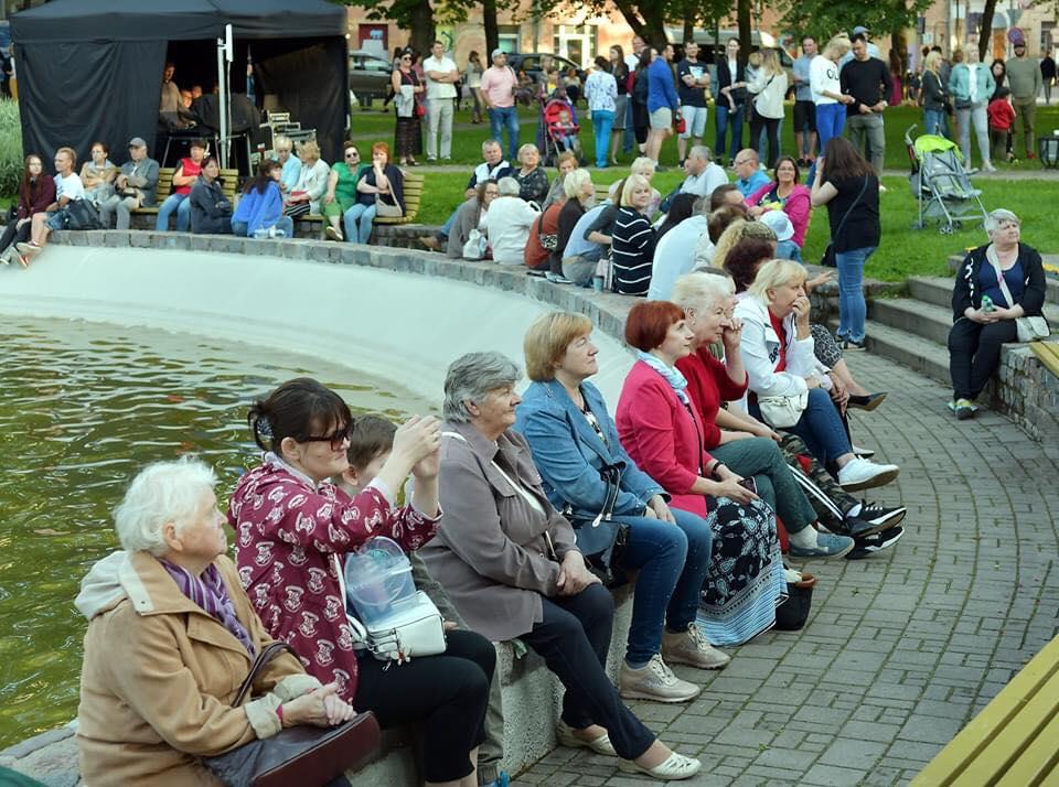 Музыкальные субботы в парке Дубровина