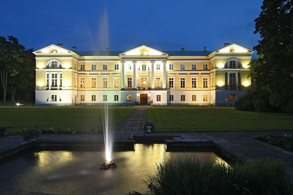 Замок Межотне. Фото: Mežotnes Pils LV