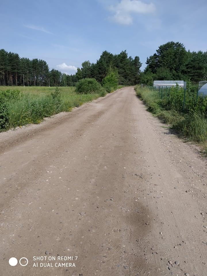 Грунтовая дорога на улице Лиепзиеду в Даугавпилсе. Фото читательницы