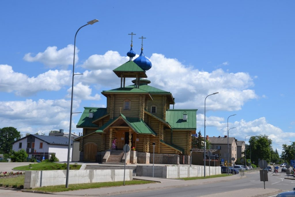 Деревянный храм в Балви. Фото: Елена Иванцова