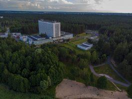 Даугавпилсская региональная больница. 28 июня 2020 года. Фото с дрона: Евгений Ратков