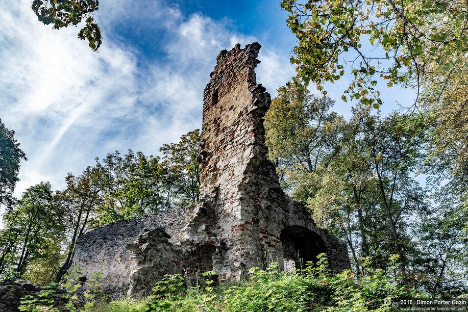 Гауйиенский орденский замок. Фото: pilis.l