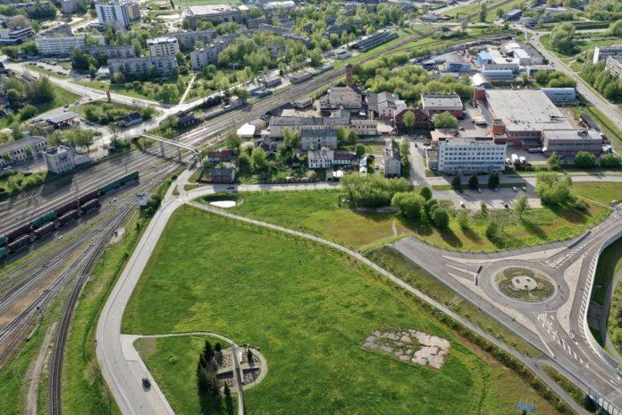 Путепровод в Даугавпилсе. Фото: Daugavpils.lv
