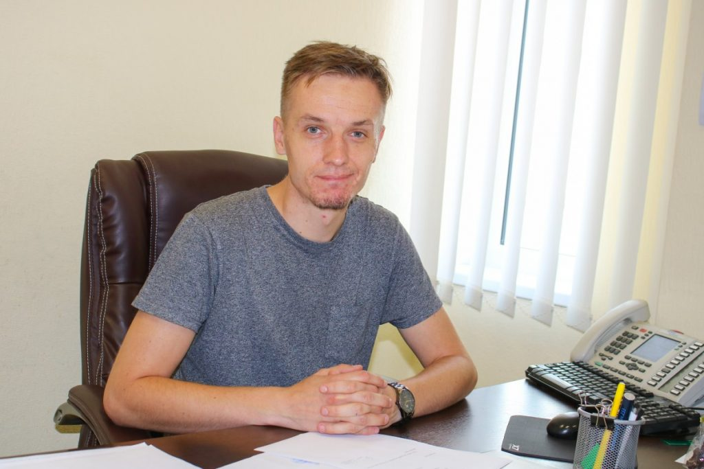 Руководитель ДРБГригорий Семенов. Фото: Настя Гавриленко