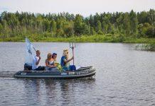 Праздник Нептуна в посёлке Общества слепых в Даугавпилсе. 26 июля 2020 года. Фото: Настя Гавриленко