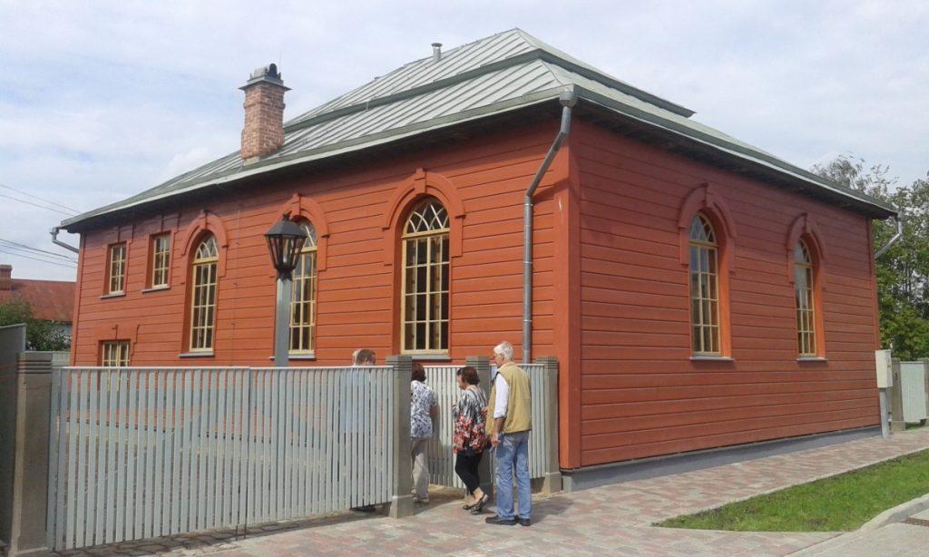 Лудзенская синагога. Фото: Елена Иванцова