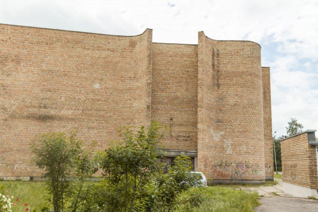 Здание бывшего кинотеатра «Ренессанс» в Даугавпилсе. 2 июля 2020 года. Фото: Евгений Ратков